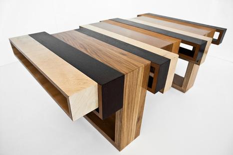 Wood-con-fusion - Furniture by Eli Chissick » Yanko Design | le meuble durable | Scoop.it