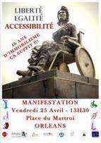 Accessibilité/Ad'AP le Loiret se mobilise | Handicap et compagnie | Scoop.it