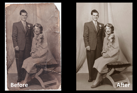 Couple Photo Restoration Services | Innovative Imaging Professional | Scoop.it