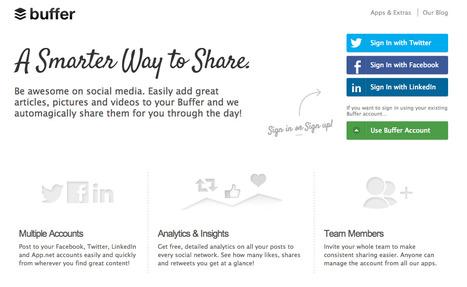 Buffer - A Smarter Way to Share on Social Media | UV 2.0 | Scoop.it