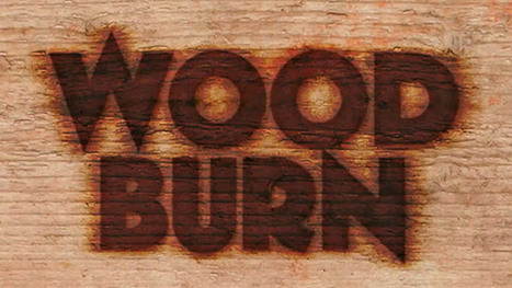 Create a Text Burnt on Wood in Photoshop - Photoshop Roadmap | Photoshop Text Effects Journal | Scoop.it
