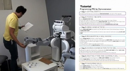 Teaching robots new tricks by demonstration without programming | UX of the Future | Scoop.it