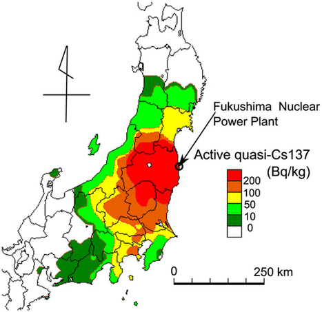 Overview of active cesium contamination of freshwater fish in Fukushima and Eastern Japan : Scientific Reports : Nature Publishing Group   ambiente   Scoop.it