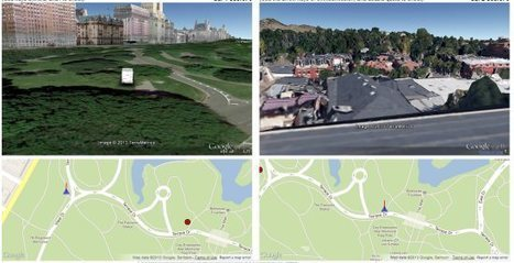 Two player driving shooter game in Google Earth   Google Earth Blog   CartOrtho   Scoop.it