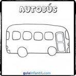 Dibujos de medios de transporte para pintar con los niños | para colorear | Scoop.it