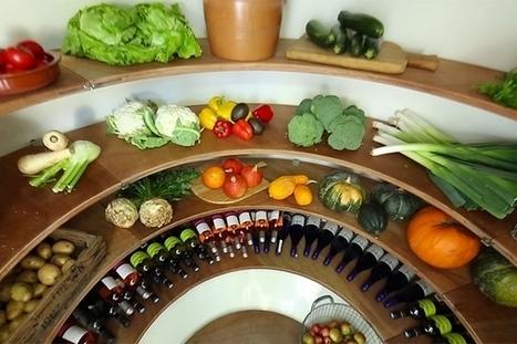 Groundfridge : un réfrigérateur souterrain pour garder les aliments au frais sans électricité | Le monde souterrain, espace d'innovation | Scoop.it