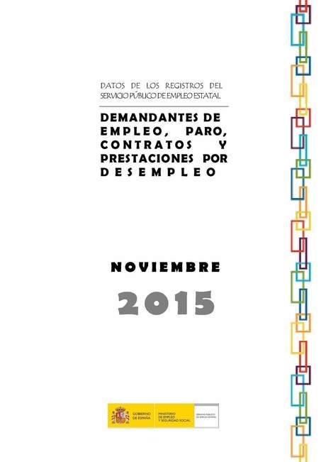 Datos del paro en noviembre de 2015 | Empleo Palencia | Scoop.it