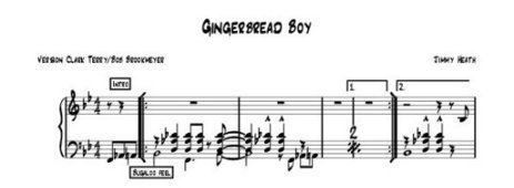 Gingerbread Boy: A Critical Analysis of Covers | Nextbop | Jazz Plus | Scoop.it