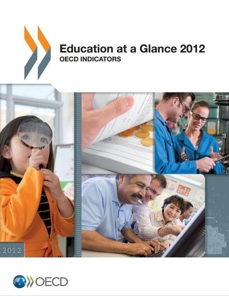 PANORAMA DE LA EDUCACIÓN INDICADORES DE LA OCDE 2012   Aprendizaje y redes abiertas.   Scoop.it