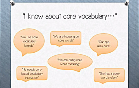 Video of the Week: Core Vocabulary 101   AAC: Augmentative and Alternative Communication   Scoop.it