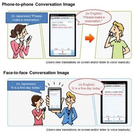 NTT Docomo to launch new Mobile Translation Apps | Mobile Japanese English Translation Applications | Scoop.it