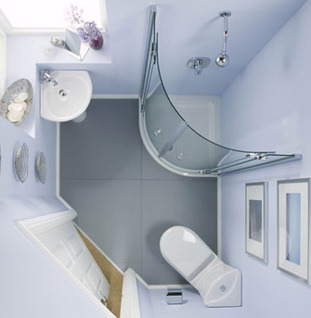 corner showers for small bathrooms | Bathroom Design Ideas 2012 | Scoop.it
