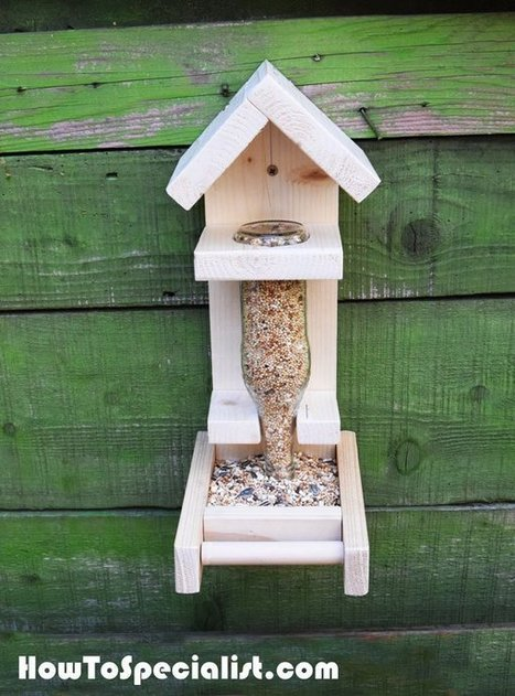 How to Build a Bottle Bird Feeder | HowToSpecialist - How to Build, Step by Step DIY Plans | Garden Plans | Scoop.it