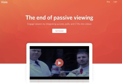 Utiliser les vidéos en cours de façon interactive : Vizia | Veille générale et Pédagogique | Scoop.it