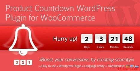 Product Countdown WordPress Plugin for Woocommerce | Download Free Nulled Scripts | hguifufyf | Scoop.it