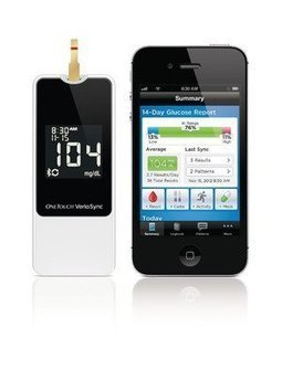 Blood Glucose Meter Sends Results Wirelessly To iPhone®, iPad® or iPod touch® | diabetes and more | Scoop.it
