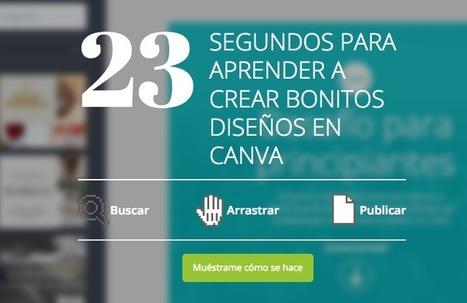 Canva, diseño online de gráficos vectoriales   EDUCACIÓ   Scoop.it