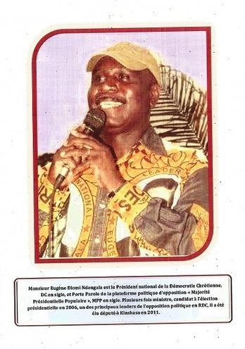 FLYERS DE L'ACAJ SUR LE PRISONNIER POLITIQUE EUGENE DIOMI NDONGALA / A DIFFUSER SANS MODERATION | EUGENE DIOMI NDONGALA, PRISONNIER POLITIQUE EN RDC | Scoop.it