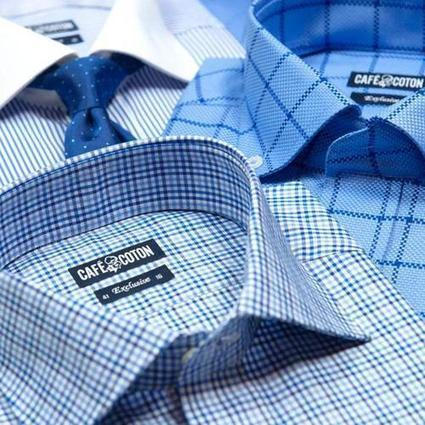 Cutaway color shirts are super trendy this year | shirts | Scoop.it