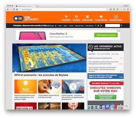 Chrome : les efforts d'optimisation commencent à payer - MacGeneration | netnavig | Scoop.it