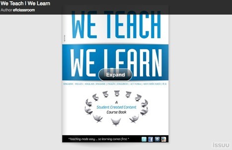 We teach, we learn: a student-created content coursebook by David Deubelbeiss | esl | Scoop.it
