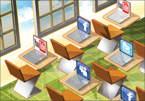 Education Week: Social Networking Goes to School | Beyond the Stacks | Scoop.it