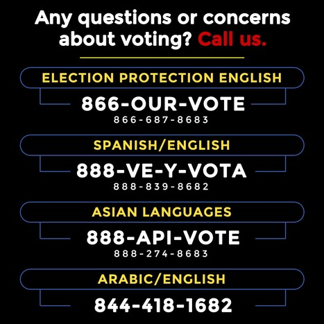 CALL About ANY Questions or Concerns About Voting | Coffee Party Feminists | Scoop.it