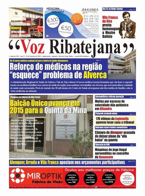 Está Aí, mais uma edição do Voz Ribatejana   Xira News   Scoop.it