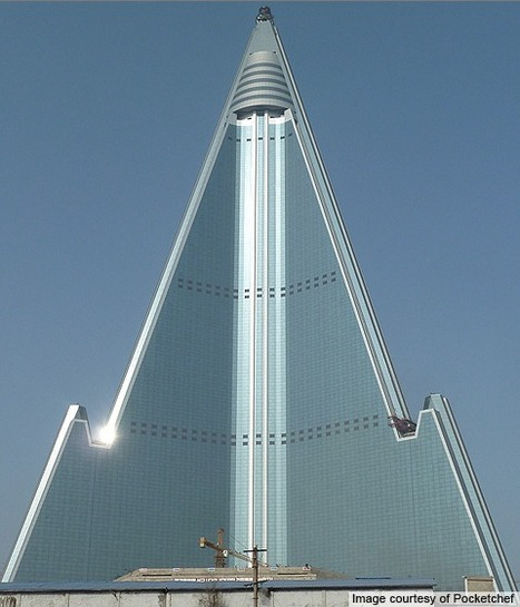 Ryugyong Hotel - North Korea | Asia: Modern architecture | Scoop.it