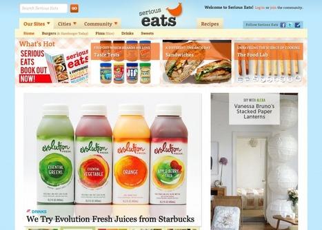 2/3 Foodsphere numérique : Les recettes à la sauce curation et web-sémantique | Geek & Food | Cuisine - Cook | Scoop.it
