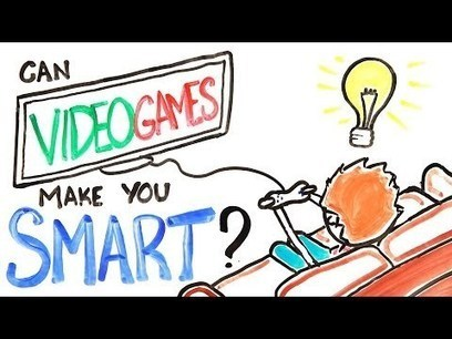 Instead of TV, you should watch... | Can Video Games Make You Smarter? | Digital Play | Scoop.it