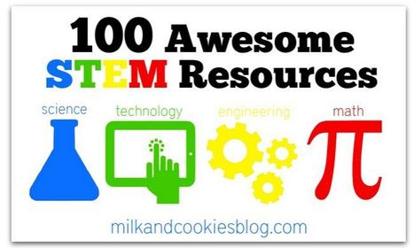 100 Awesome STEM Resources - Milk and Cookies | Skolbiblioteket och lärande | Scoop.it