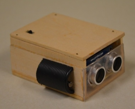 Arduino Blog » Blog Archive » An ultrasonic eye for the visually impaired – #ArduinoMicroMonday | IT, Electronics, Programming | Scoop.it