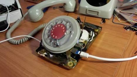 Convert a Rotary Phone to VOIP using Raspberry Pi - Hackaday | Arduino, Netduino, Rasperry Pi! | Scoop.it