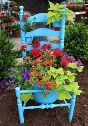 Bloom Where Planted: Creative Spring Planters | GARDENING | Scoop.it