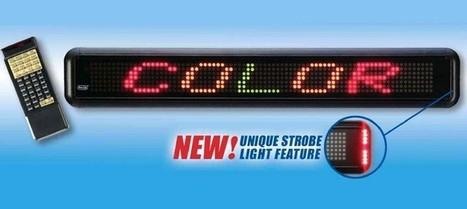 Advertise your Business through Indoor Single line Displays   Benefits of Digital Billboards?   Scoop.it
