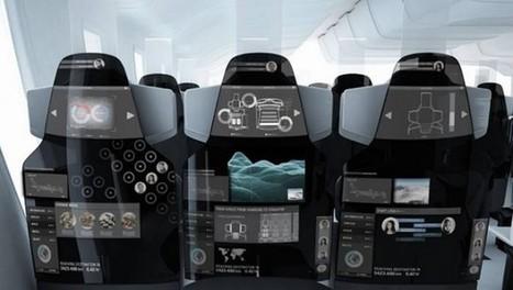 COS : Un concept de siège d'avion connecté   geeko   Tourisme numérique   Scoop.it
