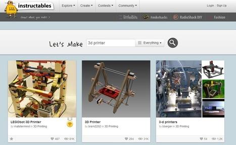 3D Model Website Database | 3D Printer Plans | Additive Manufacturing or 3D Printing | Scoop.it