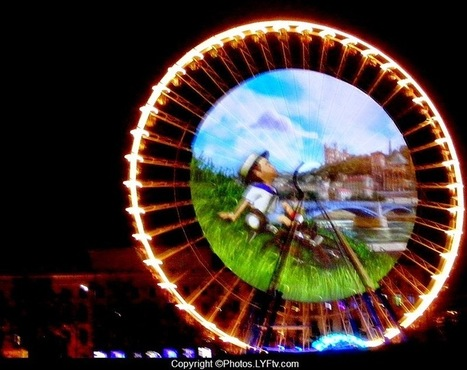 LYFtv.com: Fête des lumières 2014 - Spectacle total place Bellecour ! | LYFtv - Lyon | Scoop.it