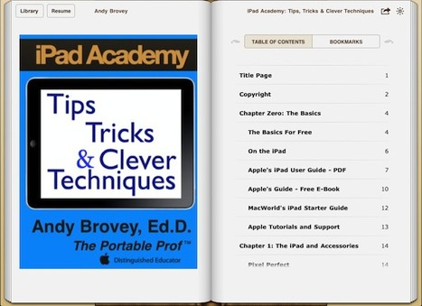 Creating an ePub Book Using Pages - How to Make the eBook Cover Look Good | iPad Academy | Grassroots Education and Education Innovation | Scoop.it