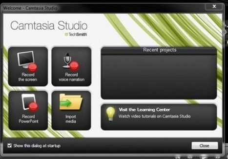 Camtasia Studio 7 Video Editing & Screencasting Software | Digital Presentations in Education | Scoop.it