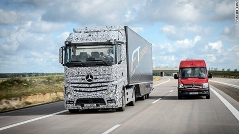 One way to solve the driver shortage? truck of the future aims to drive itself | Customs clearance | Scoop.it