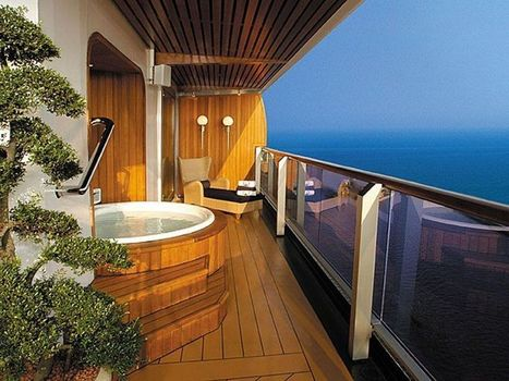 Decadent cruise ship suites | cruise trends | Scoop.it