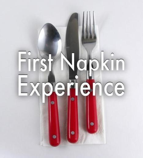 First napkin experience... | Motivational Leadership | Scoop.it