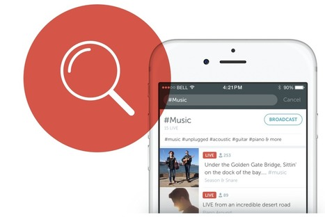 Periscope makes broadcasts permanent by default and introduces search | SocialWebBusiness | Scoop.it
