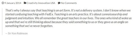Sir Ken Robinson : The Art of Teaching | Montessori Education | Scoop.it