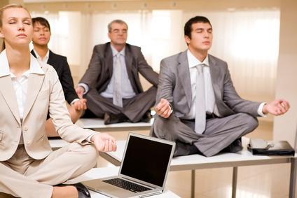 Yoga du bureau et méditation en Entreprise - Un concept UNIQUE en France | Stress en entreprise, bien-être | Scoop.it
