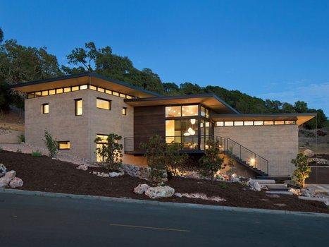 Très beau design pour cette maison conte...