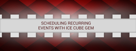 Scheduling Recurring Events with Ice Cube Gem - RailsCarma - Ruby on Rails Development Company specializing in Offshore Development - Bangalore, Qatar, California, Dallas, Newyork | Ruby on Rails Application Development | Scoop.it