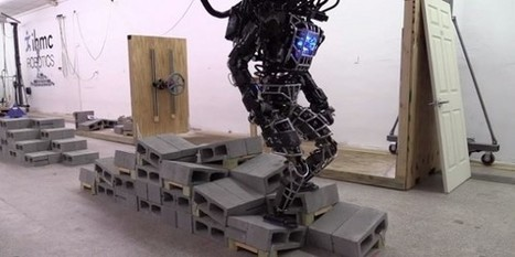ATLAS robot gets closer to walking like a human - Tech Gen Mag | Welcoming our robot overlords | Scoop.it